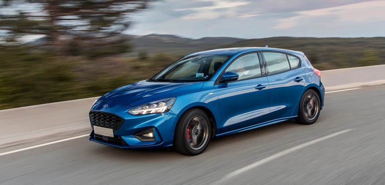 ford focus 1 0 ecoboost 125 st line nav 5dr contract hire for business and personal use uk. Black Bedroom Furniture Sets. Home Design Ideas
