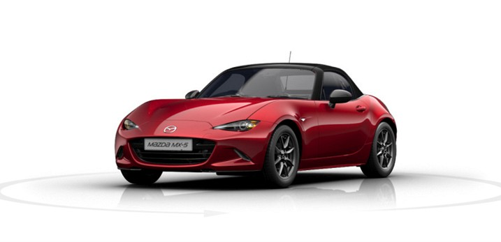 mazda mx5 2 0 184 sel nav contract hire for business and. Black Bedroom Furniture Sets. Home Design Ideas