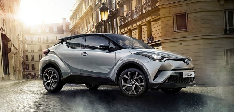 toyota chr 1 8 hybrid dynamic cvt contract hire for business and personal use uk. Black Bedroom Furniture Sets. Home Design Ideas